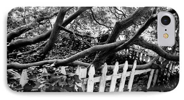 Overflowing A Picket Fence IPhone Case