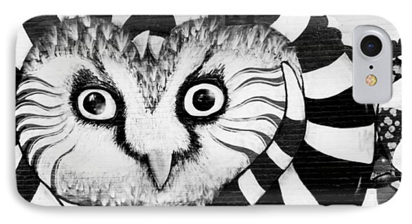 IPhone 7 Case featuring the photograph Owl Mural by Ricky L Jones