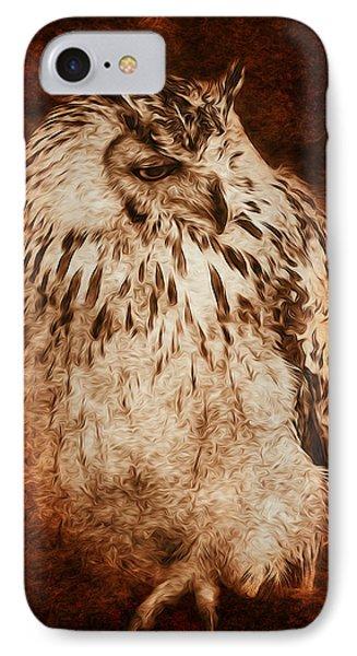 Owl Phone Case by Svetlana Sewell