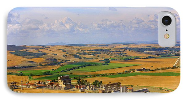 Landscape Tarquinian Former Oil Mill IPhone Case