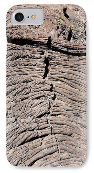 Pahoehoe Lava IPhone Case by Michael Szoenyi