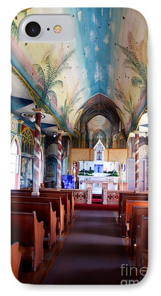 Painted Church All Profits Go To Hospice Of The Calumet Area IPhone Case