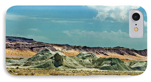 Painted Desert National Park IPhone Case by Bob and Nadine Johnston