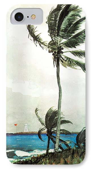 Palm Tree Nassau IPhone Case by Celestial Images
