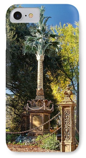 Palmetto Regiment Monument  IPhone Case by Charles Hite