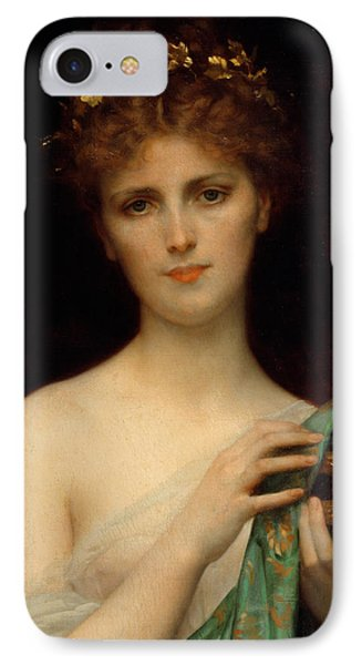 Pandora IPhone Case by Alexandre Cabanel