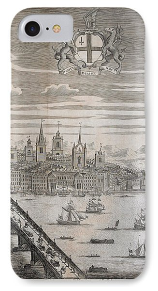 Panorama Of London IPhone Case by British Library