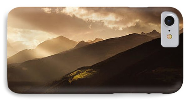 Panoramic View Of Dolomite Alps Phone Case by Evgeny Kuklev