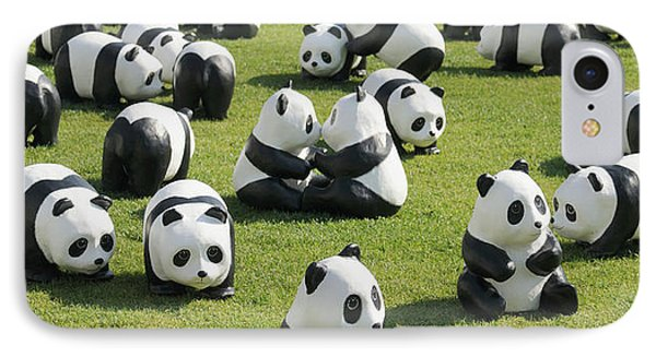 Paper Made Pandas From World Wildlife IPhone Case