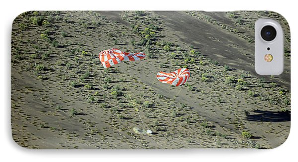 Parachute Test For Orion Spacecraft IPhone Case by Nasa