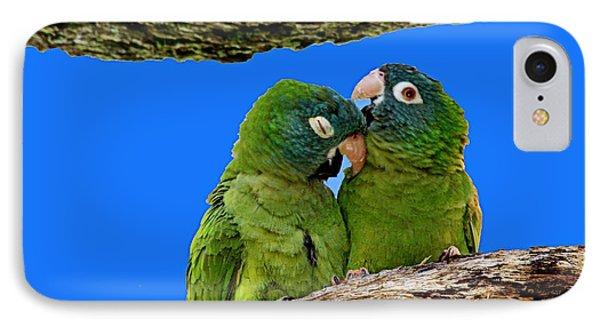 Parakeet Pair IPhone Case