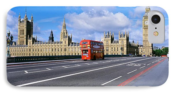 Parliament Big Ben London England IPhone Case by Panoramic Images