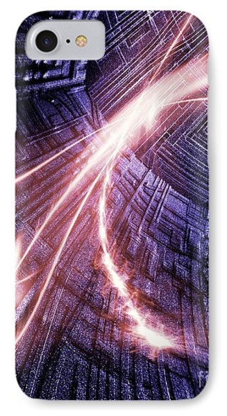 Particle Accelerator IPhone Case by Richard Kail