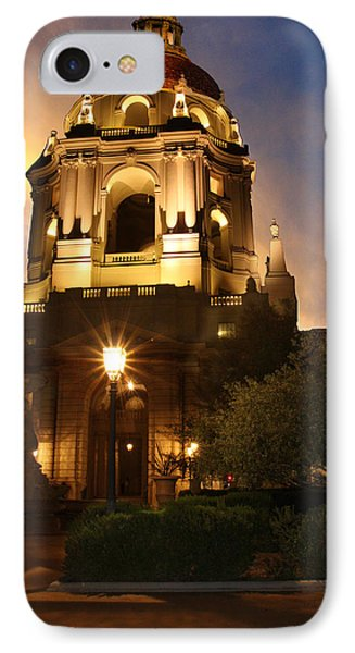 Pasadena City Hall IPhone Case by Robert Hebert
