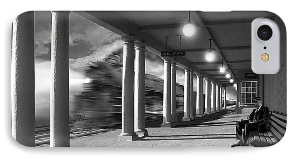 Passing Through IPhone Case by Mike McGlothlen