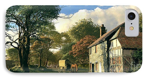Pastoral Homestead IPhone Case by Dominic Davison