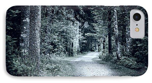 Path In Dark Forest IPhone Case by Elena Elisseeva
