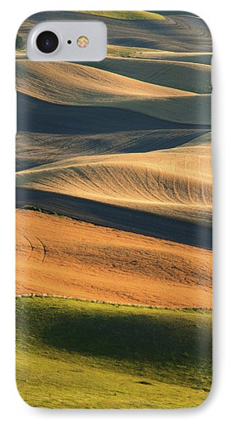 Patterns Of The Palouse IPhone Case by Latah Trail Foundation