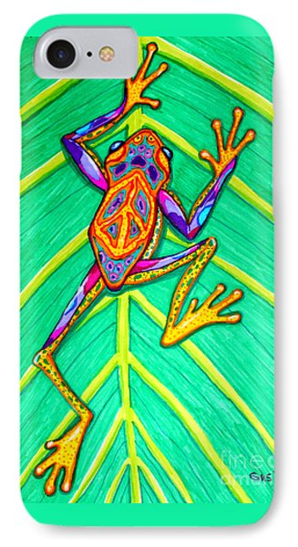 Peace Frog IPhone Case