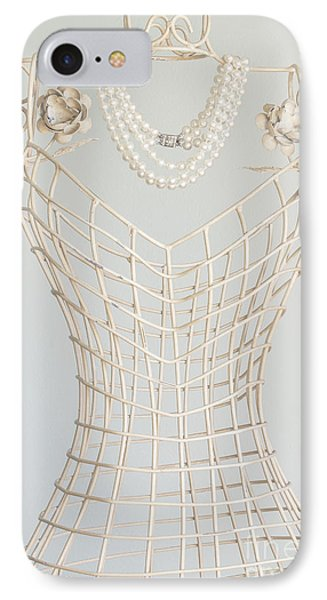 Pearls Phone Case by Margie Hurwich