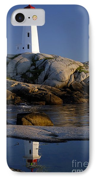 Peggy's Cove Lighthouse Phone Case by Norman Pogson