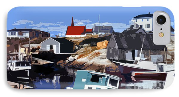 Peggy's Cove IPhone Case by Lydia Holly