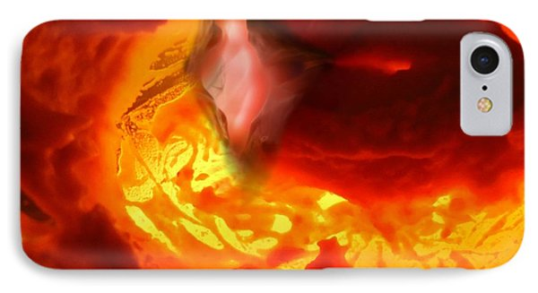 Pele Goddess Of Fire And Volcanoes IPhone Case by Steed Edwards