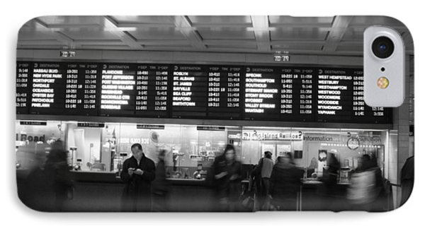 IPhone Case featuring the photograph Penn Station by Steven Macanka