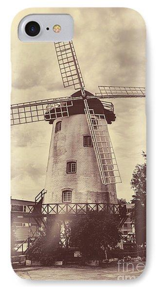 Penny Royal Windmill In Launceston Tasmania  IPhone Case by Jorgo Photography - Wall Art Gallery