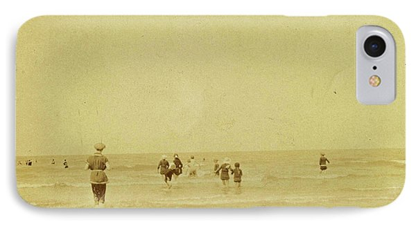 People At Sea North Sea, The Netherlands Or Germany IPhone Case