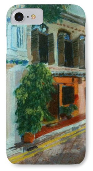 IPhone Case featuring the painting Peranakan House by Belinda Low