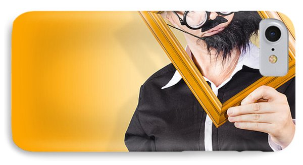 Person Setting Their Social Media Profile Picture IPhone Case by Jorgo Photography - Wall Art Gallery