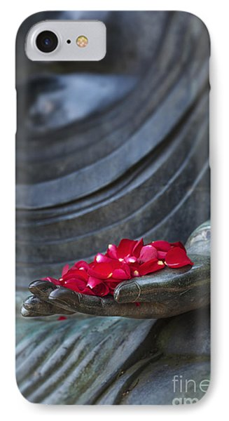 Petals Of Peace  IPhone Case by Tim Gainey