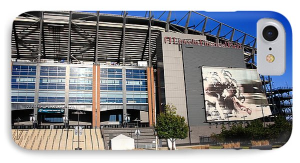 Philadelphia Eagles - Lincoln Financial Field Phone Case by Frank Romeo