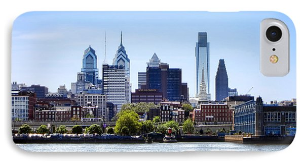Philadelphia Phone Case by Olivier Le Queinec