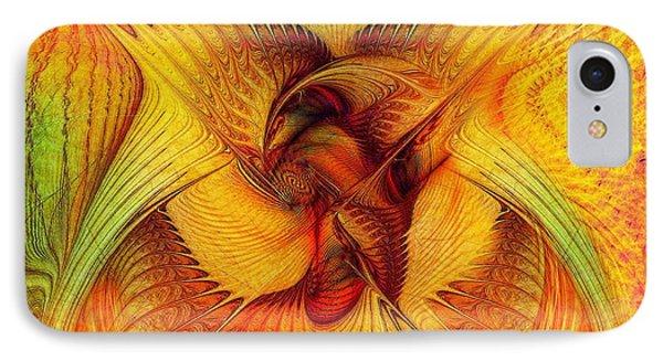 Phoenix Phone Case by Klara Acel