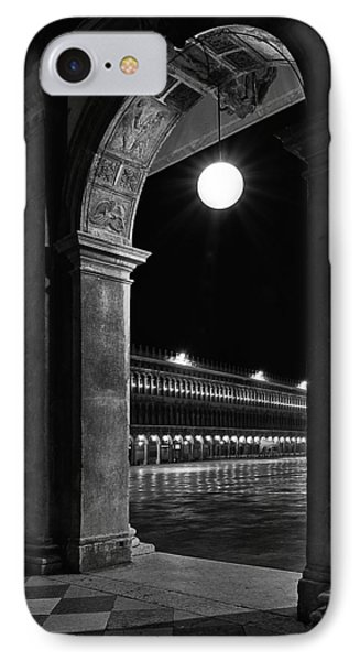 Piazza San Marco 2 IPhone Case by Marion Galt