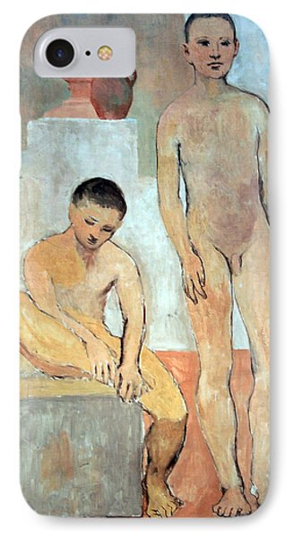 Picasso's Two Youths IPhone Case by Cora Wandel
