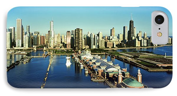 Pier On A Lake, Navy Pier, Lake IPhone Case by Panoramic Images