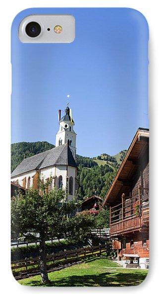 Pilgrimage Church Maria Schnee IPhone Case by Martin Zwick