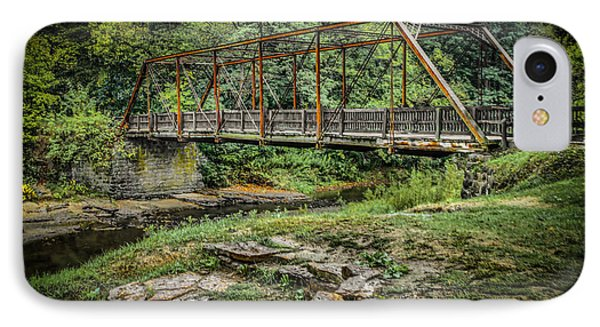 Pine Creek Bridge IPhone Case by Ray Congrove