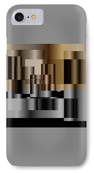 Pipes IPhone Case by Iris Gelbart