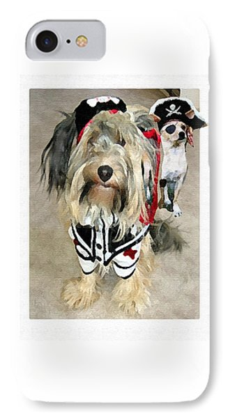 Pirate Dogs IPhone Case