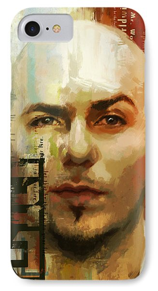 Pitbull IPhone Case by Corporate Art Task Force