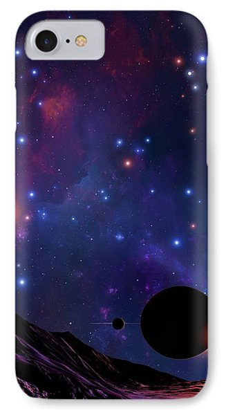 Planet At The Centre Of The Milky Way IPhone Case by Mark Garlick