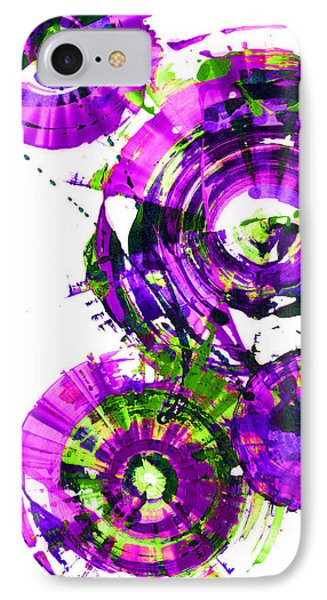 Playing In The Wind 1000.042312 - Popart-3 IPhone Case by Kris Haas