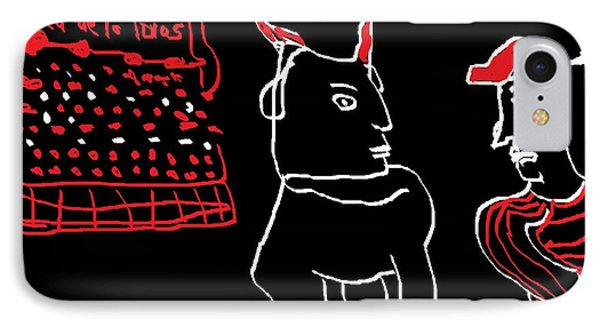 IPhone Case featuring the painting Plaza De Los Toros by Don Koester