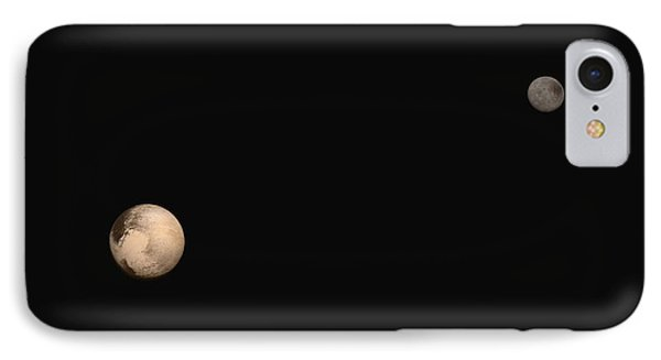 Pluto And Charon IPhone Case by Nasa/jhuapl/swri