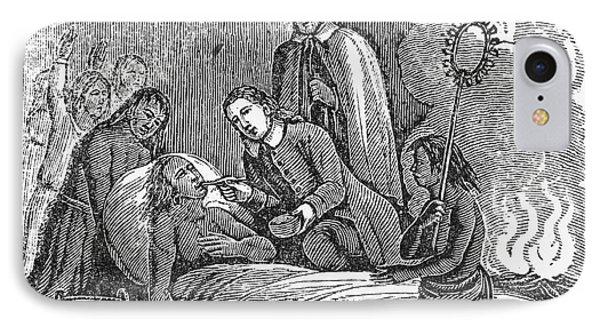 Plymouth: Massasoit, 1623 IPhone Case