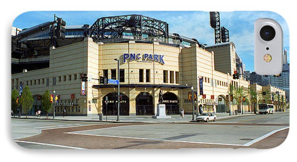 Pnc Park - Pittsburgh Pirates Phone Case by Frank Romeo